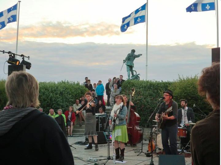 Concert à la Maison du Québec à Saint-Malo