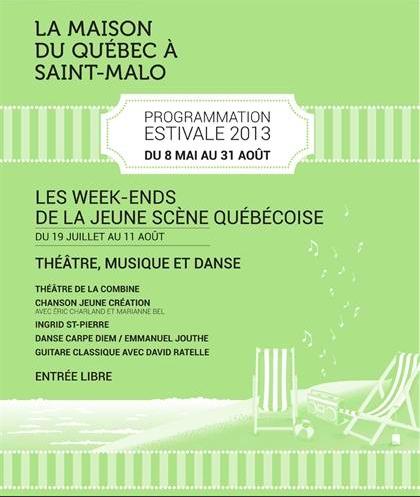 Les week-ends de la jeune scène québécoise