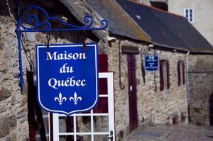La Maison du Quebec à Saint-Malo